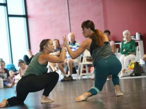 Behind the Curtain series at Sarasota Contemporary Dance!