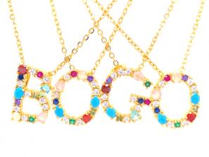 BOGO Confetti Necklace