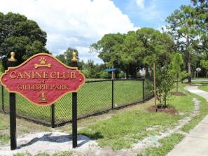Canine Club at Gillespie Park - Located on the corner of North Osprey Ave & 10th Street. This dog park provides two fenced areas. Unleash and enjoy the day!