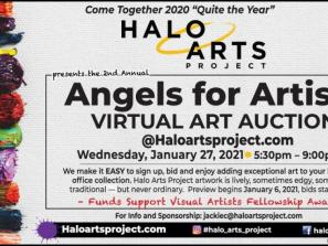 Halo Arts Project presents ANGELS  for ARTISTS