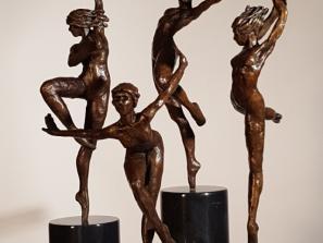 Lyrical Figurative Bronzes by James Gabbert