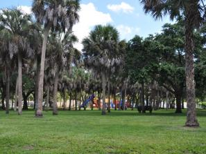Orange Avenue Park - Spend the day at this wonderful park! It has a basketball court, picnic tables, a playground, swing-set, and benches to sit on.