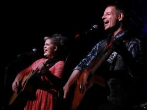 Rosie Webber and Joe Casey. Photo by Matthew Holler.