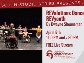 Sarasota Contemporary Dance In-Studio Performance Series Presents: Dwayne Sheuneman
