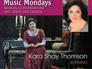 "Kara Shay Thomson - Kara Shay Thomson, soprano Sarasota Opera audiences have raved about Kara Shay Thomsons's performances in ""Tosca"", ""Fidelio"" and ""Tiefland"" join us for a conversation and performance on January 14th."