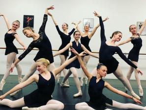 Students at School of Russian Ballet - Pre-professional classical ballet training true Vaganova method