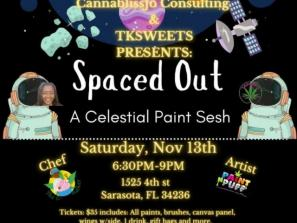 Spaced Out: A Celestial Paint Sesh