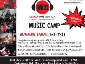 SUMMER Camp at Music Compound
