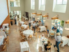 The Ringling Grillroom, indoor dining - The Ringling Grillroom is a Modern American restaurant and a favorite go-to for special occasions and casual lunch get-togethers alike.