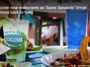 WFLA Channel 8 segment about Savor