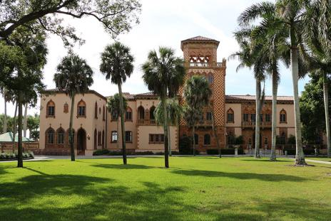 The Ca' d'Zan, John Ringling's 35,000-square-foot mansion
