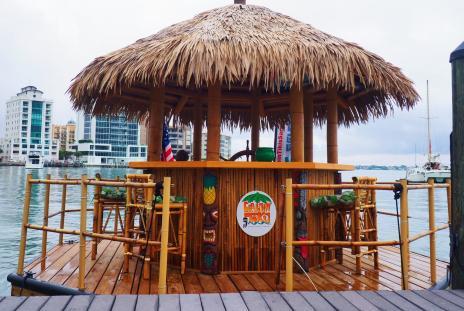 cruisin tiki boat tour