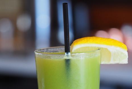 non alcoholic drink at shore restaurant in sarasota florida