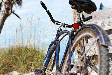 A bike out on Lido beach
