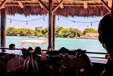 Pop's Sunset Grill offers views of Sarasota Bay and Casey Key (Photo: Visit Sarasota County)