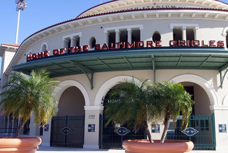 Ed Smith Stadium.  Photo credit: Robin Draper.