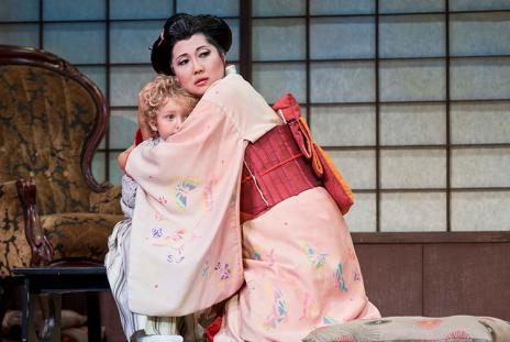 Sarasota Opera - Madama Butterfly. Photo credit: Rod-Millington