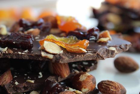 Dark Chocolate Bark for Your Sweetie