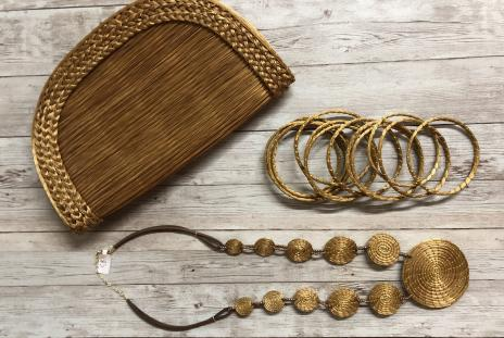 accessories from the bazaar on apricot & lime