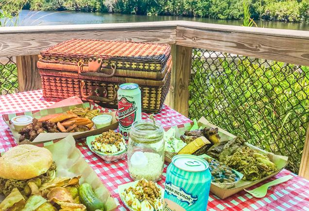 Picnic at Snook Haven