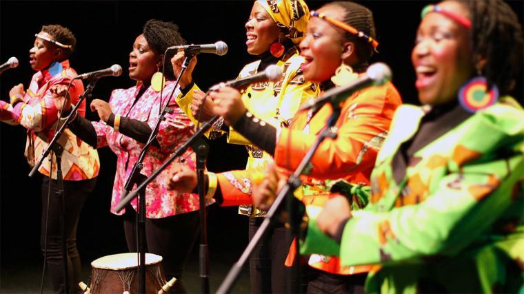 RIAF - From Zimbabwe comes Nobuntu, the acclaimed a cappella quintet