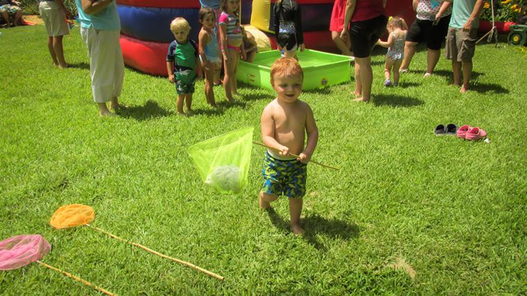 Photos of Tammy Jones's Family enjoying Splashin' Selby