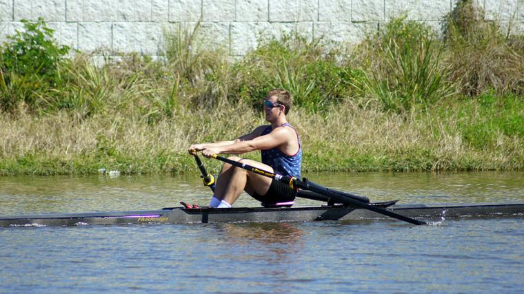 Rowing at Nathan Benderson Park