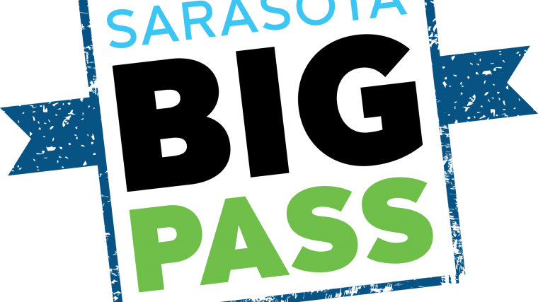 Sarasota Big Pass Logo with URL