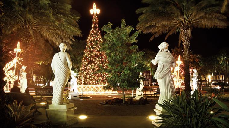 Holiday Night on St. Armand's