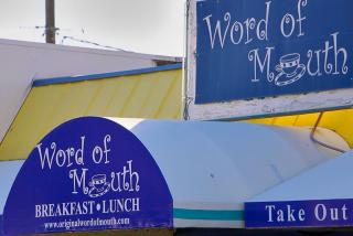 Word of Mouth Cafe in Gulf Gate Sarasota