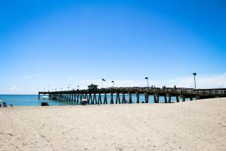 Venice Beach Fishing Pier in Sarasota County