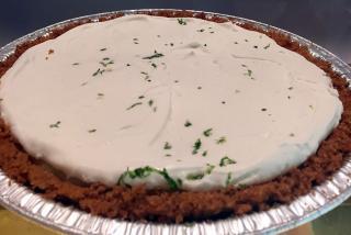 Floribbean Flo's Key Lime Pie.  Photo by Robin Draper.