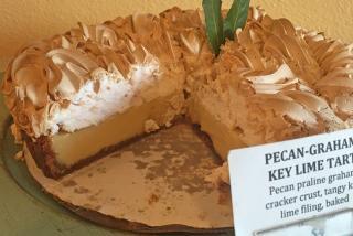 Key Lime Pie - Jim's Small Batch Bakery.  Photo by Robin Draper.