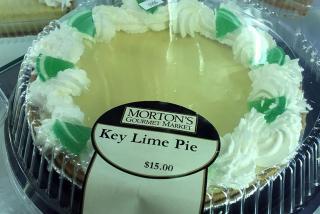 Key Lime Pie - Morton's Bakery.  Photo by Robin Draper.