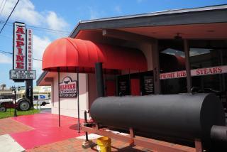 Alpine Steakhouse Exterior in Sarasota Florida