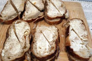 Florida Orange Bread and Butter Pudding - Bread Prep 2