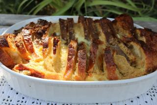 Florida Orange Bread and Butter Pudding - Final