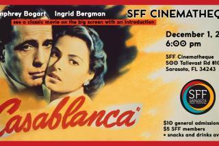 SFF Cinematheque presents Casablanca