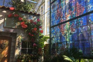 The Color of Dreams: Chagall Exhibit at Marie Selby Botanical Gardens. Photo credit: Liz Sandburg