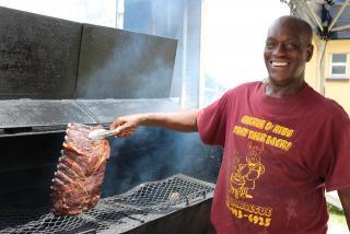 For more than 17 years, Desmond & Rashad Bar B Q has been serving ribs, chicken, pulled pork, and garlic shrimp as a roadside stand located at 2811 17th Street and open Fridays and Saturdays (10:30 – 5:30 pm)