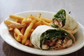 wrap from gecko's grill & pub