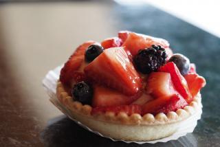 berry dessert from Morton's Gourmet Market