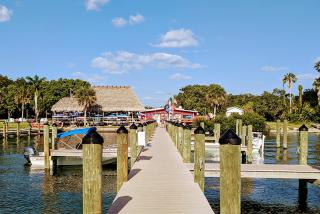 Caption: Evie's Spanish Point location is a hidden gem on Sarasota Bay opposite Siesta Key (Photo: Visit Sarasota County)