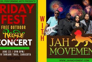 Friday Fest - Jah Movement - June 22 2018 at Van Wezel Performing Arts Hall