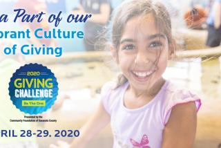 The Giving Challenge Graphic (courtesy of Community Foundation of Sarasota County)