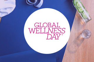 Event Banner for Global Wellness Day at the Westin