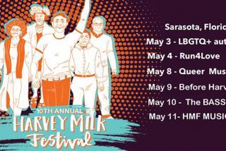 Event Banner for Harvey Milk Festival 2019 in Sarasota