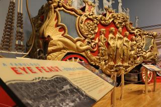 Circus train car at Ringling Museum in Sarasota Florida