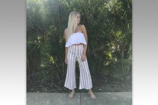 Clothing from INfluence Style on St. Armands Circle. Photo by Kendra Gemma