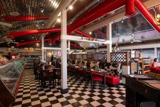 Inside Alpine Steakhouse